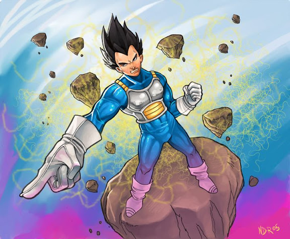 Vegeta by digital rivers Megapost   Imagenes de Dragon Ball   Parte 3   Vegeta