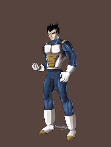 Vegeta by black spartan Megapost   Imagenes de Dragon Ball   Parte 3   Vegeta
