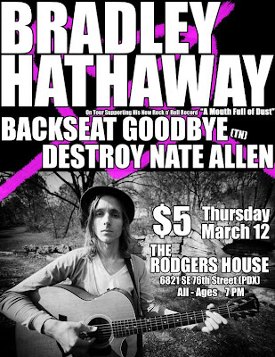 Bradley Hathaway Backseat Goodbye Destroy Nate Allen