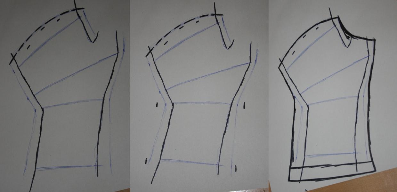 Mohnrot bastelt...: Tutorial: Fleece-Stulpen