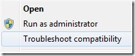 Trouble-shoot-compatibility-mode