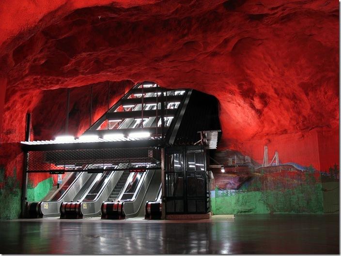 SolnaCentrumsubwaystationStockholm