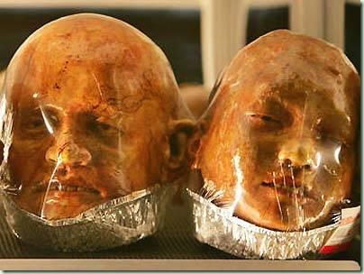 pão para o hallowen