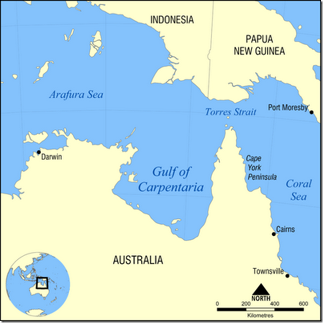 golfo de Carpentaria