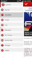 Screenshot of RTL Football