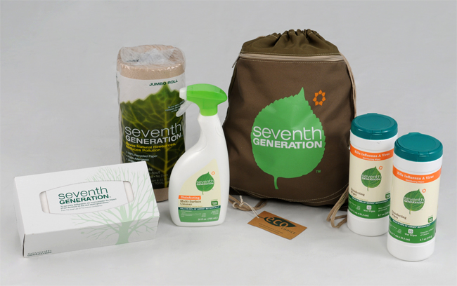 win a Seventh Generation Back-to-School kit
