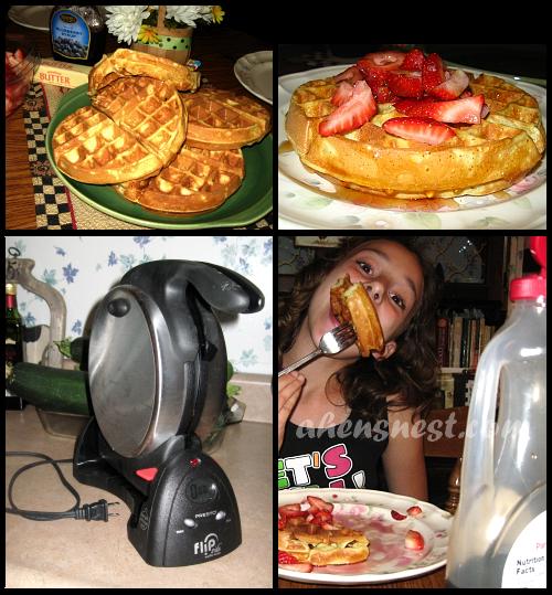 Presto Flip Belgian Waffle Maker CSNStores.com