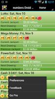 Screenshot of Illinois Lottery Droid Lite
