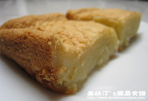 Baked Coconut Sticky Rice Cake (Chinese New Year) | Christine's ...