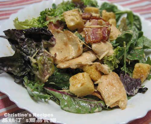 凱撒沙律 Caesar salad