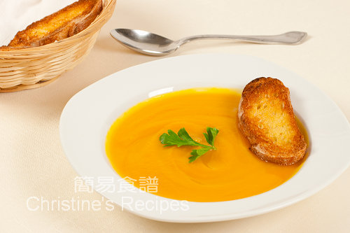 南瓜甜薯湯 Pumpkin and Sweet Potato Soup02