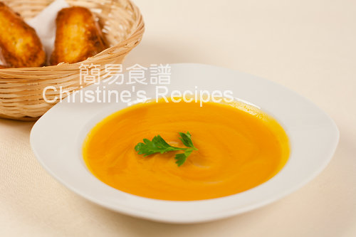南瓜甜薯湯 Pumpkin and Sweet Potato Soup01