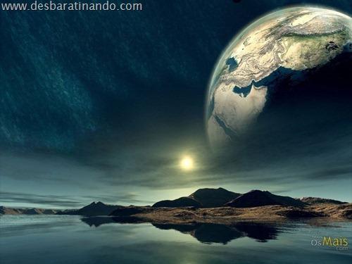 wallpapper desbaratinando planetas papeis de parede espaço planets space (2)