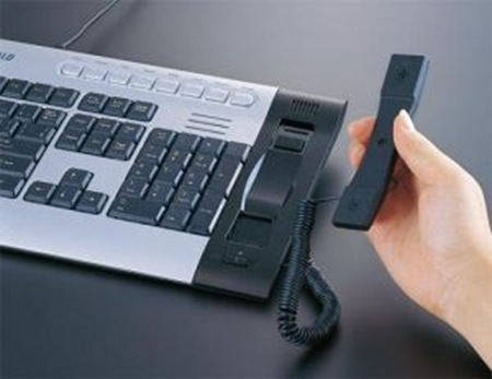 buffalo-keyboard-with-skype-phone
