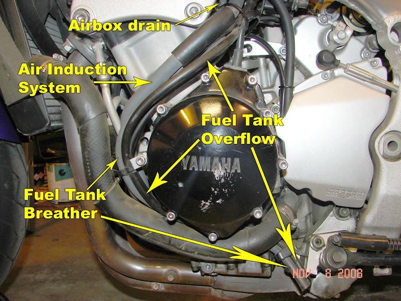Yamaha R Coolant Tank