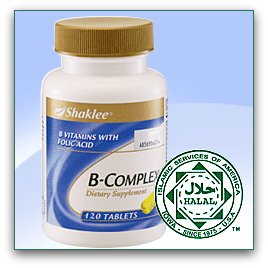 Shaklee B-Complex for Brain Alert