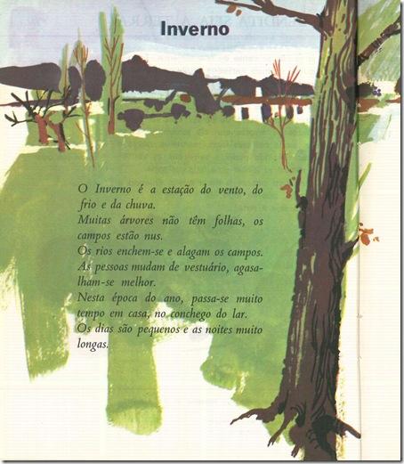 Inverno, «Livro de Leitura da Segunda Classe, 1968»