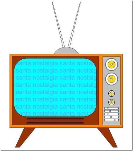 televisao santa nostalgia