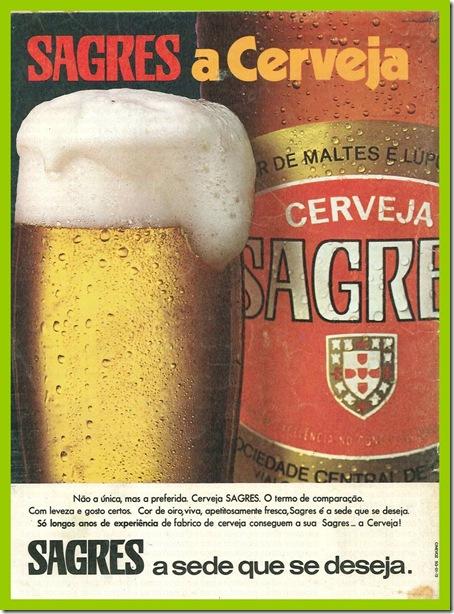 cerveja sagres a sede que se deseja santa nostalgia