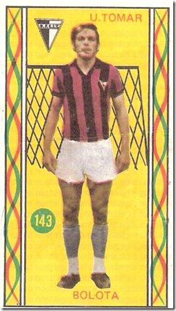 os famosos do futebol portugues universal 75_76 cromo 2 sn