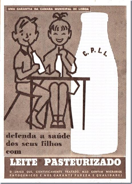 leite pasteurizado publicidade antiga