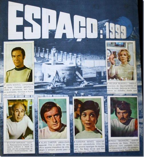 espaço 1999 personagens
