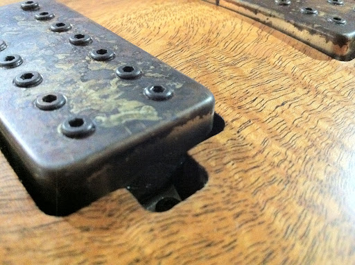 Distressed Aftermath 7 set from Bare Knuckle Pickups in the UK.