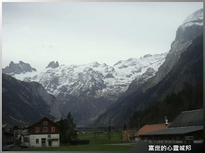 瑞士鐵力士山風景