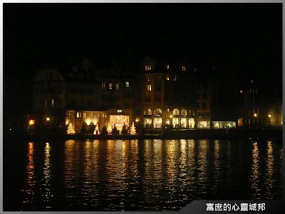 盧森湖畔夜景