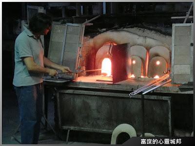 燒製水晶玻璃的過程