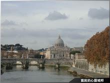 從羅馬眺望聖彼得大教堂