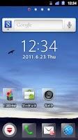 Screenshot of docomo Palette UI