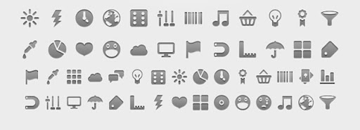 30 Free Android Menu Icons