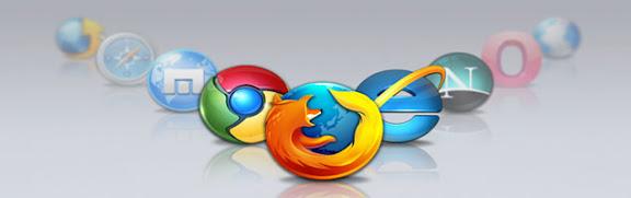 Iconos de 9 navegadores