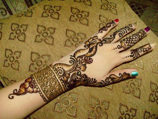 mehndi designs 2 Easy Mehndi Designs for Eid