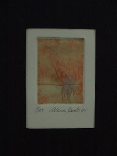 Obra de Márcia Santtos na exposição Coletivo Artistas Associados Estúdio Valongo 2010 - Ano I
