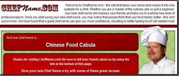 chef name