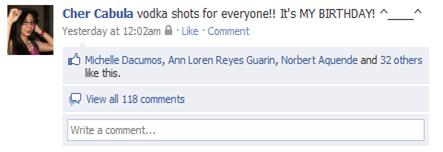 FB status