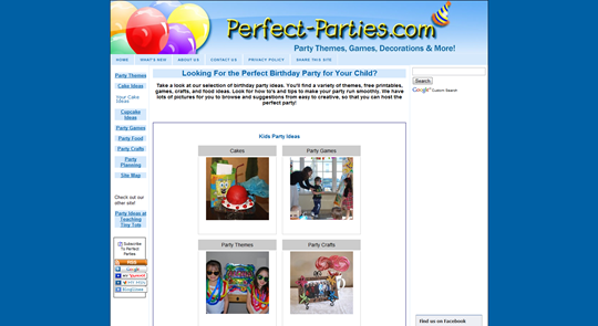 Kid s Birthday Party Ideas  Plan the Perfect Party