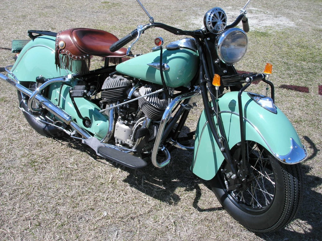 Indian Chief Motorcycle: Indian Chief. Old School Cool.