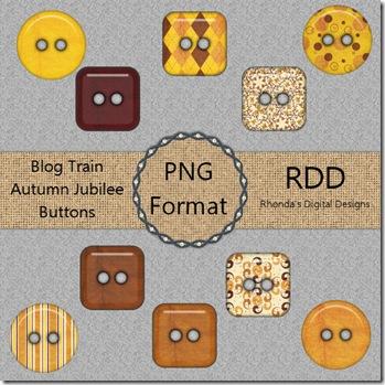 RDD-AutumnJubileeButtonsDisplay