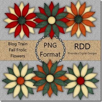 RDD-FallFrolicFlowersDisplay