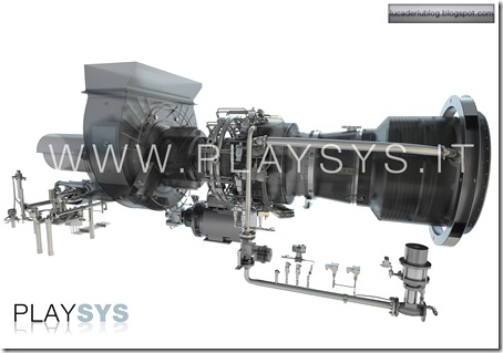 Turbina with PlaySys Custom Shader