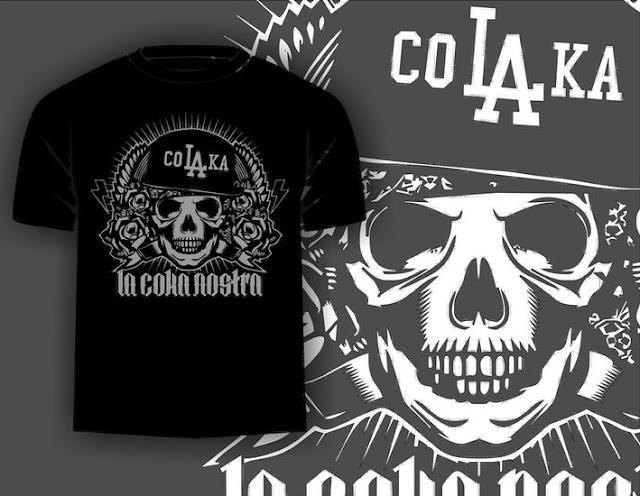T-Shirt Colaka Hitam