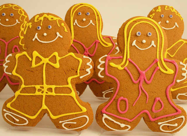 Artisan Gingerbread Boys and Girls