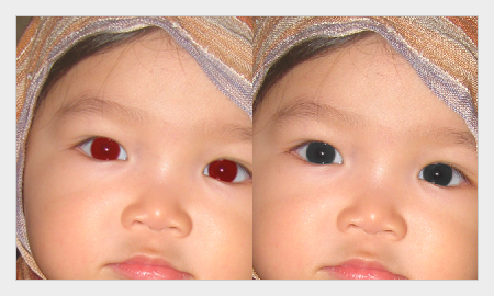cara menghilangkan mata merah dengan photoshop 6