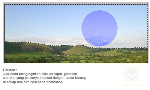 Cara Menyimpan Seleksi pada Photoshop
