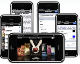 5 Fantastic Free iPhone E-book Reader Apps