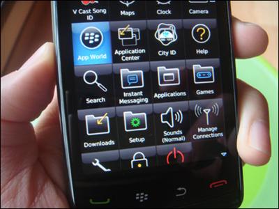BlackBerry Storm : Specs   Price   Reviews   Test