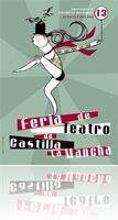 Cartel de la XIII Feria de Teatro de Castilla-La Mancha.